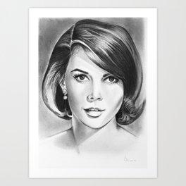 Natalie Wood Art Print