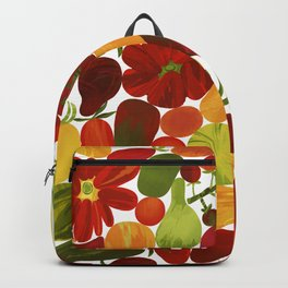 Whimsical Fruit Salad Backpack