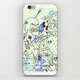 28-02-16 Diary Doodle iPhone Skin
