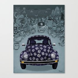 Spook Buggy - Welcome to No Name Canvas Print