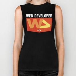 Web developer Biker Tank