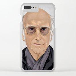 Larry D. Clear iPhone Case