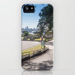 Campsite Driveway iPhone Case