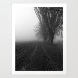 Parallel Paths Art Print