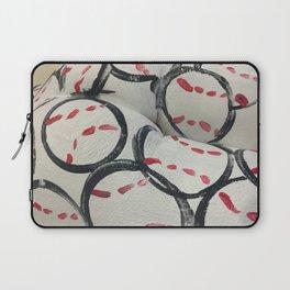 Baseball Season - Body Paint Laptop Sleeve