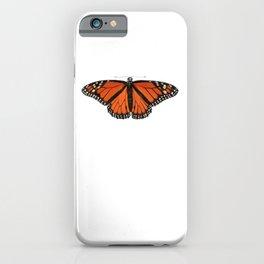 Monarch (Danaus plexippus) iPhone Case