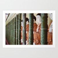 Buddhas of Guan Yin Art Print