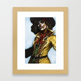 Pirate Woman Framed Art Print