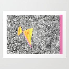 Colouring book IV Art Print