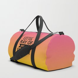 Little Ray Of Sarcastic Sunshine Duffle Bag