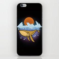 Purple Ocean iPhone & iPod Skin