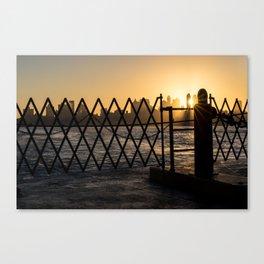 Staten Island Ferry: Sunrise Canvas Print