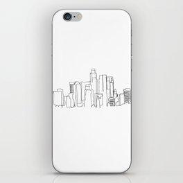 Los Angeles Skyline Drawing iPhone Skin