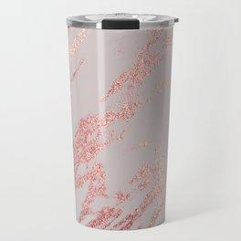Porcelain grey rose gold Travel Mug
