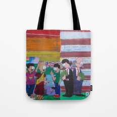 United We Stand Divided We Fall 12: Together Tote Bag