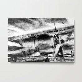 Aviation Art Metal Print