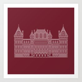 NYS Capitol Building #3 Art Print
