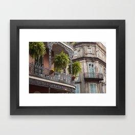 New Orleans Looking Down Royal Framed Art Print