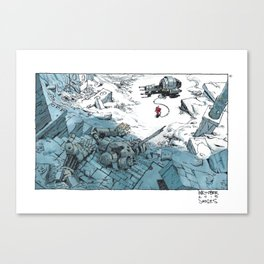 Mooeti Inktober #13 Canvas Print