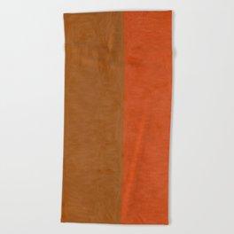 Shades of Brown Beach Towel