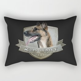 K9 Unit  - Malinois Rectangular Pillow