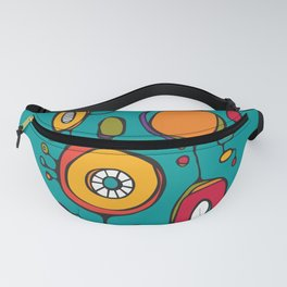 Scribbles 01 in Color Fanny Pack