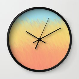 That Field of Golden Wheat Wall Clock