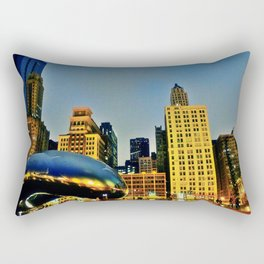 Chicago Bean Rectangular Pillow