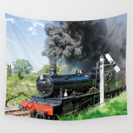 Dinmore Manor in motion Wall Tapestry