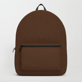 Stairway to Serenity ~ Pine Cone Brown Backpack