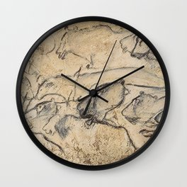 Aurignacian Art Wall Clock