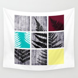 Square Fern Wall Tapestry