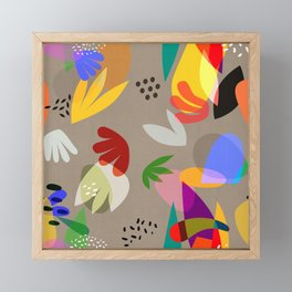 MATISSE CUTOUTS Framed Mini Art Print