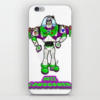 buzz lightyear iPhone & iPod Skins featuring Buzz Longgoner...  The spookier version of Pixar's Buzz Lightyear from Toy Story by beetoons