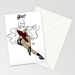 Willow Ghost Pin up Stationery Cards