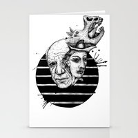 picasso Stationery Cards featuring Picasso by Benson Koo