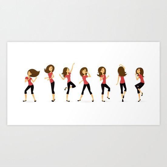 Dance Like No One's Watching Art Print