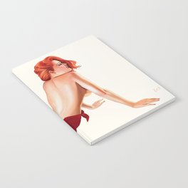 Vintage Pinup Girl Notebook