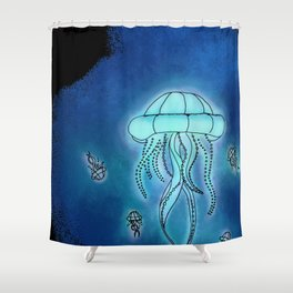 In the Deep Shower Curtain