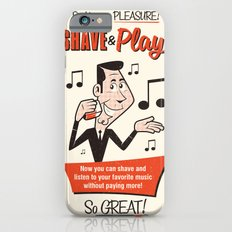 Shave and Play Slim Case iPhone 6s