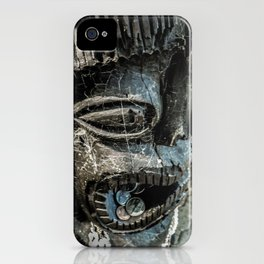 Bribing the gods for a little luck iPhone Case