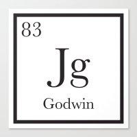 chemistry Canvas Prints featuring Chemistry by godwinanthology