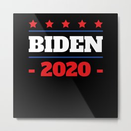 Star Democrat Joe Biden 2020 Campaign Metal Print