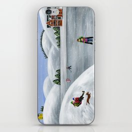 Hilly Humbleness iPhone Skin