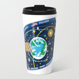 Expedition 52 Actual Flight Patch Travel Mug