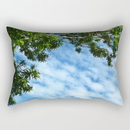 .look at the sky. Rectangular Pillow
