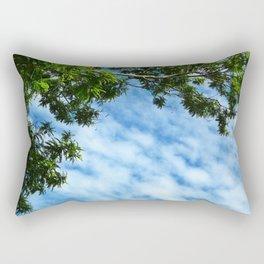 .look at the sky. Rectangular Pillow