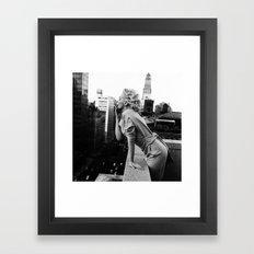 Marilyn Breath Framed Art Print