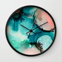 Ink painting Wall Clock