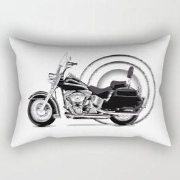 Motorrad Rectangular Pillow